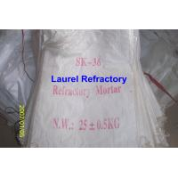 Cheap Unshaped Refractory Mortar Series , Basic / Acidic Refractories for sale