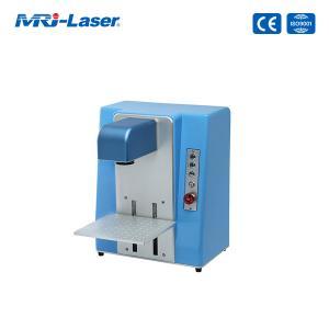 Cheap 110V 220V 30W Fiber Laser Marking Machine For Metal and Plastic for sale