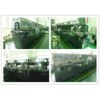 China Lubricating Oil Bottle Automatic Screen Printing Equipment Multi Colors Printing on sale