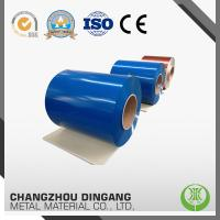 China Color Coating Aluminium Sheet Roll For Roofing Material 0.1-2.5 mm Thickness on sale