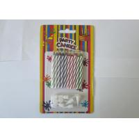 Cheap Birthday Cake Magic Relighting Candles / Twisted Birthday Candles CE Approved for sale