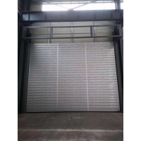 China Resist Wind Install Outside 5000*7500MM High Speed Spiral Door on sale
