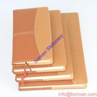 Cheap a5 a6 custom wholesale leather journal with logo embossed,custom paper leather book for sale