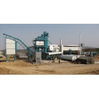 Cheap Fixed Type Asphalt Batching Plant 2 Stage Duster 50T Hot Aggregate Storage Bin for sale