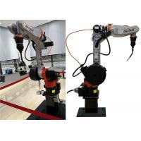 Cheap 6 Axis Miller Welding Equipment ±0.03mm Robot Accuracy Vertical Ground Install for sale