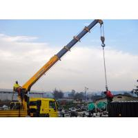 Buy cheap Knuckle Boom Truck Crane from wholesalers