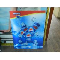 Cheap PS lenticular sheet for making large size 3d poster large format lenticular advertising poster 3d flip printing for sale