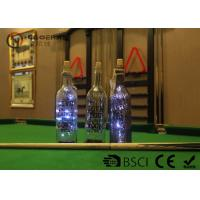 Cheap Fashionable Wine Bottle Led Lights , Wine Bottle Lights Battery Operated for sale