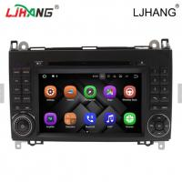 Cheap 1024*600 Map Solution Mercedes Benz DVD Player 240 Dpi With Media Card for sale