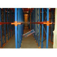 Cheap Heavy Load Drive In Racking , Galvanised Pallet Racking Storage Drive Through Racks wholesale