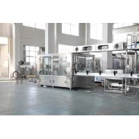 Buy cheap Gas Drink Bottle Packing Machine , Pure Mineral Water Bottling Equipment 220V 12000BPH from wholesalers