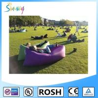 Cheap Fast Inflatable Sofa Air Filled Bags Sleeping inflatable Lounger Lamzac for sale