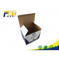 China Recyclable Custom Colored Corrugated Paper Shipping Carton Boxes on sale