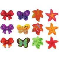 Cheap Luxury Fashion Hair Velcro Pad For Womens / Girls / Baby Velcro Hair Clips wholesale