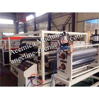 Cheap waterproof,fire proof,anti-corrosion,flame retardant pvc glazed roof tile production line for sale