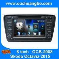 Cheap Ouchuangbo car dvd radio navigation system Skoda Octavia 2015 support iPod BT phonebook fa for sale