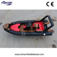 China New Type Rib Boat Fiberglass Hull Suitable for Big Family or Travel Agency (FHH-R700) on sale