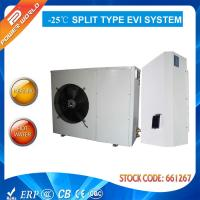 Cheap 50hz 10.5 Kw Split Air To Water Source Heat Pump Coefficient Of Performance High Cop Evi for sale