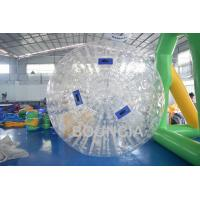 Buy cheap 1.0mm TPU Body Zorb Ball Without Harness For Walk On Grass from Wholesalers