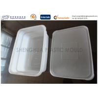 China Airtight Disposable Plastic Food Containers Injection Mold Makers Small Size on sale