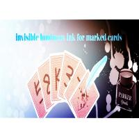 Cheap Magic Trick Luminous Ink With A Marker Pen For Making Poker Invisible Marks for sale