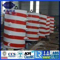 Cheap Foam Filled Steel structured offshore mooring buoy, Yellow Painted steel structure Mooring Buoy for sale