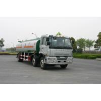 Cheap Jinggong Chassis 6x2 For Transport Petroleum , Diesel Oil 220HP Carbon Steel Fuel Delivery Truck 21cbm for sale