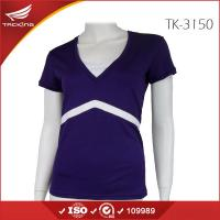 China 2015 two color ladies cotton blank t-shirt on sale