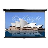 Cheap Manual Pull Down Projection Screen for sale
