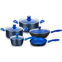 Cheap Forged aluminum non stick cookware set with flavour stone coating for sale