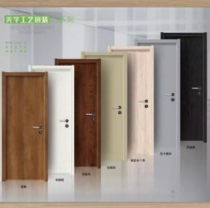 Cheap zhongshan supplier composite paint door,original wooden door,rubber wooden door ,ecological wooden door, for sale