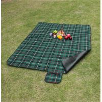 Cheap Customize Pattern of 100% polyester waterproof picnic blanket for bulk sale for sale