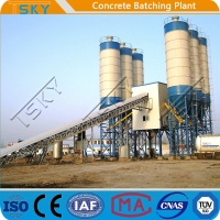 China 120m3/h Concrete Batching Mixing Plant on sale