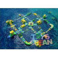 Cheap Giant Commercial Inflatable Water Park For Children Floating CE wholesale