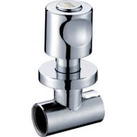 Cheap Ceramic Cartridge Brass Angle Valve For Connecting Interface for sale