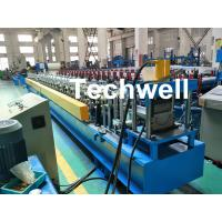 Cheap PLC Control System Cold Roll Forming Machine For Making Rainwater Gutter Roll Forming Machine for sale