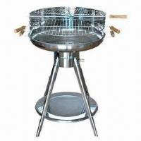 Cheap S/S Trolley Simple Charcoal BBQ Grill for sale best for sale