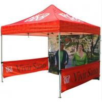 Cheap Red 10x10ft Easy Folding garden Pop Up Gazebo Tent Dye Sublimation Printing for sale