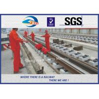 Quality Grooved Rail Railroad Steel Rail Standard BS EN 14811:2006 59R1 59R2 60R1 60R2 wholesale