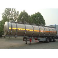 Cheap Hydrogen Peroxide Liquid Tanker Loads For Transporting Chemical Liquid for sale
