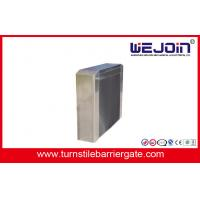 Indoor / Outdoor Semi - automatic Turnstile Barrier Gate With 490mm Arm Length