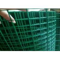 Cheap 3ft 5ft  PVC Coated Welded Wire Mesh Low Carbon Steel For Protection Cage for sale