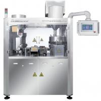 Cheap 23 Holes Capsule Manufacturing Machine , Pill Capsule Filler Machine With Multiple Tamping Stations for sale