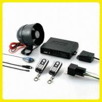 Cheap PIN Code Protected Car Alarm with 1-way Code Hopping and Auxiliary Trigger for sale