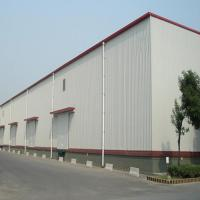 Cheap Q235 345B Workshop Steel Buildings / Steel Structure Warehouse With Drawings for sale