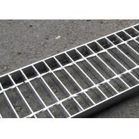Cheap 30 X 3 Concrete Steel Grating Drain Cover Hot Dip Galvanized Surface for sale