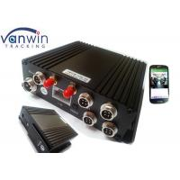 Cheap H.264 4Ch SD GPS Vehicle 4G Mobile DVR Mobile Digital Video Recorder for sale
