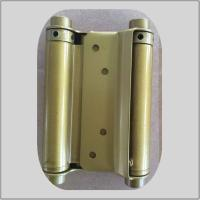 Cheap Modern Design Spring Loaded Hinges Brass Plated  For Residential House for sale
