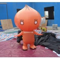 Cheap Attractive Orange Onion Advertising funny inflatable costumes for kids for sale