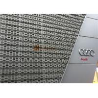 Cheap Perforated Aluminum Decorative Panels With Rhombic Pattern for Audi Workshop for sale